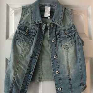 Jean vest from Maurice's
